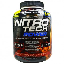 Muscletech, Nitro Tech...
